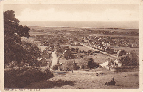 Prestatyn from the Hills