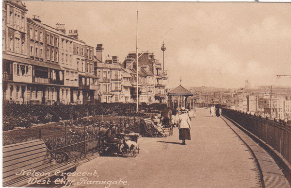 Nelson Crescent, West Cliff, Ramsgate