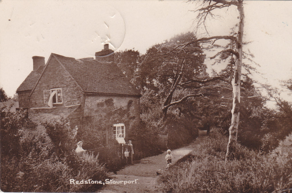 Old postcard of Redstone, Stourport in Worcestershire