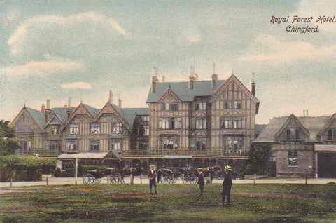 Pre 1918 postcard of the Royal Forest Hotel, Chingford in Essex