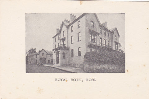 Royal Hotel, Ross