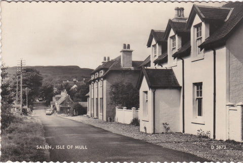 SALEN, ISLE  OF MULL - REAL PHOTO POSTCARD (ref 3122/18)