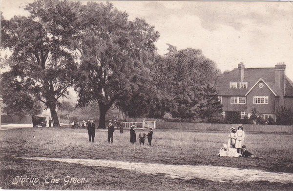 Sidcup - The Green - pre 1918 postcard