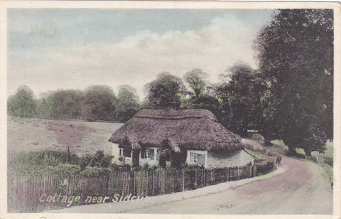 Old postcard of Cottage near Sidcup, Kent