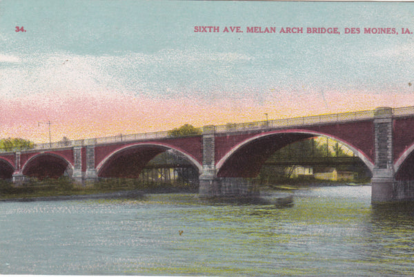SIXTH AVENUE MELAN ARCH BRIDGE, DES MOINES, IA