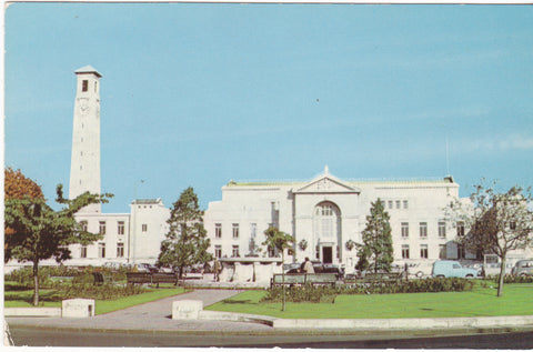 Colour postcard of the Civic Centre, Southampton
