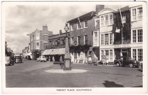 Market Place, Southwold - real photo postcard