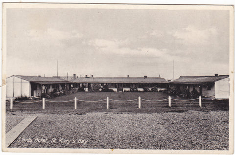 SANDS HOTEL, ST MARY'S BAY - OLD KENT POSTCARD
