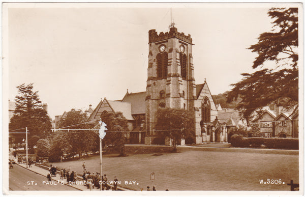 St Paul's Church, Colwyn Bay, Denbighshire