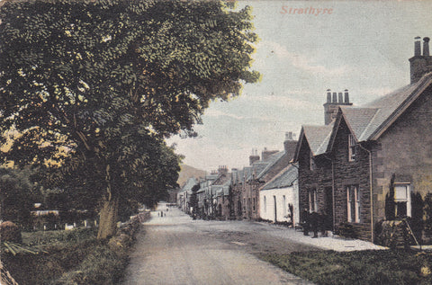 Old postcard of Strathyre, Perthshire, Scotland