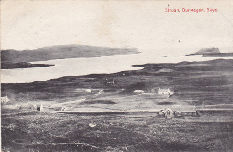 Old postcard of Struan, Dunvegan, Skye