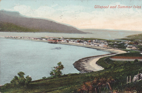 Ullapool and Summer Isles - pre 1918 postcard