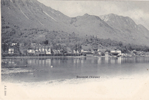 BOUVERET (VALAIS) VINTAGE SWITZERLAND POSTCARD (ref 2472)
