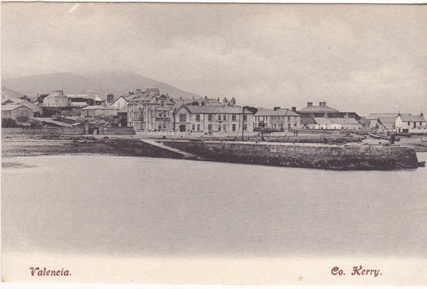 Old postcard of Valencia, Co Kerry (Valentia)