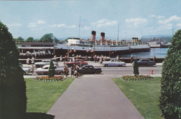 Harbor of Victoria, B.C. from Empress Hotel, Canada