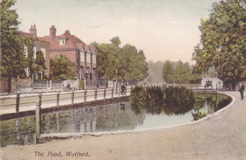 The Pond, Watford, pre 1918 postcard