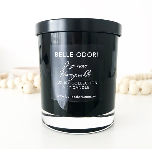 Candles - Black Jar