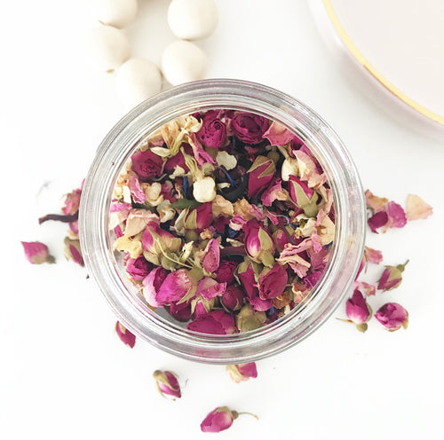 Bath Tea Infusion - Rose & Hibiscus