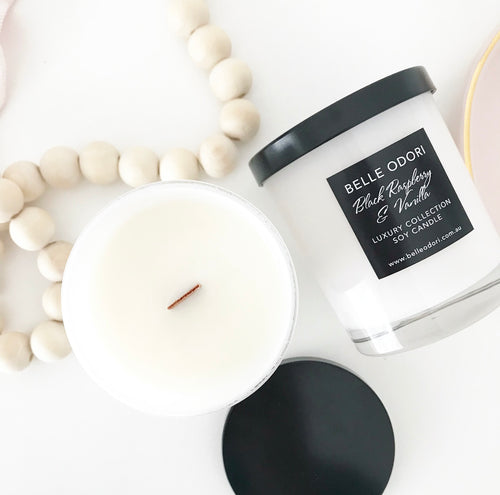 Candles - White Jar