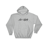 "Grey hoodie with black ""Love & Loyalty"" Logo."
