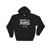 Black Love & loyalty Hoodie with White Double L Boys Logo.