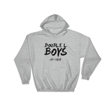 Sport Grey Love & loyalty Hoodie with Black Double L Boys Logo.