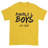 Yellow Love & loyalty T Shirt with Black Double L Boys Logo.