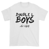 White Love & loyalty T Shirt with Black Double L Boys Logo.