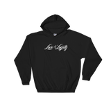 "Black hoodie with white ""Love & Loyalty"" Logo."