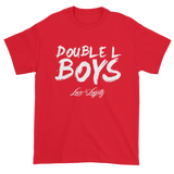 Red Love & loyalty T Shirt with White Double L Boys Logo.