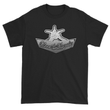 "Black Premium T-shirt with silver Love & Loyalty ""Hand Signs"" Logo"