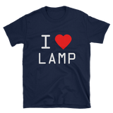 I Love Lamp T-Shirts - Funny Movie Inspired Tee