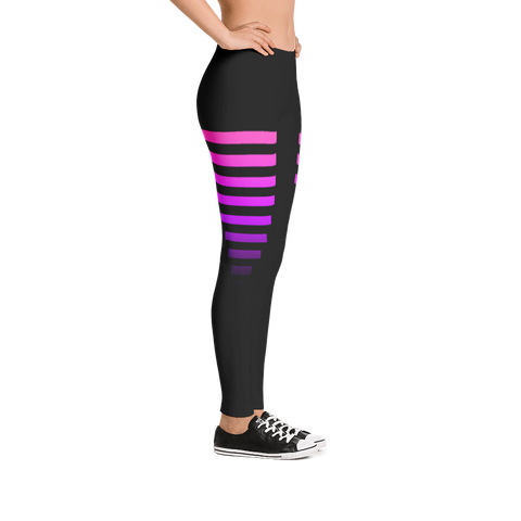 "Love & Loyalty ""Track"" Leggings"