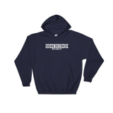 Navy/White QB Hoodie (Front)