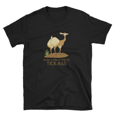 Deer Tick T-Shirt - Funny Graphic Tee