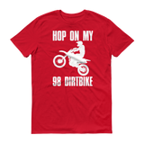 """98 DirtBike"" T-Shirt"