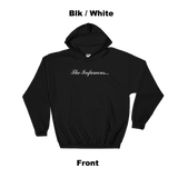 Infamous Hoodie Blk / White Front