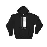 Black Hoodie with White Flag graphic above the Love & Loyalty Logo.