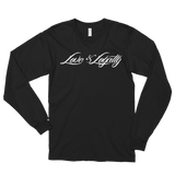 Black Long Sleeve Shirt with White Love & Loyalty Logo.