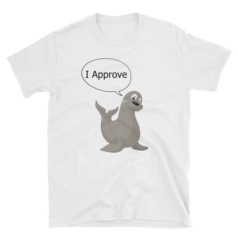 Seal Of Approval T-Shirt - Funny Graphic Tee
