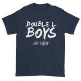 Blue Love & loyalty T Shirt with White Double L Boys Logo.