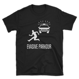 Evasive Parkour T-Shirt - Funny movie inspired tee