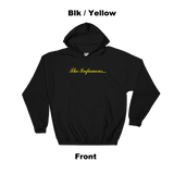 Infamous Hoodie Blk / Yellow Front