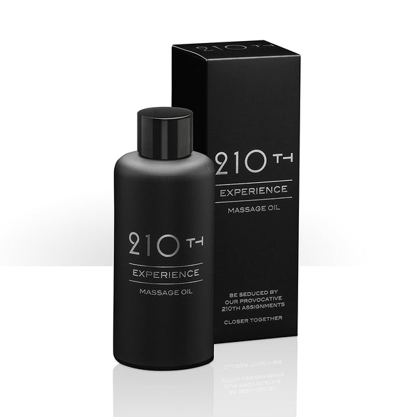210th Luxury Sensual Nourishing & Hydrating Massage Oil - Ellen Terrie