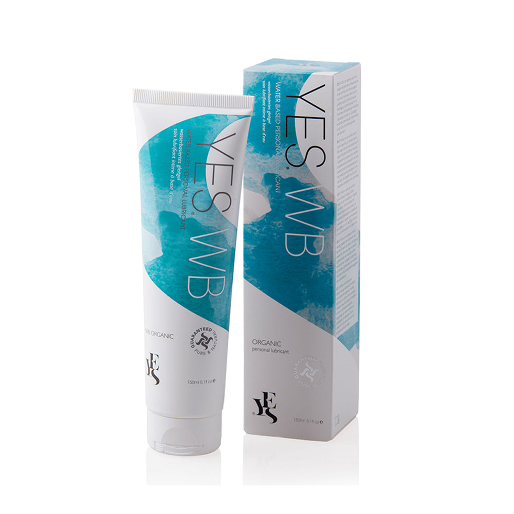 YES Organic Water-Based Intimate Sex Lubricant Vaginal Moisturiser For Women - Ellen Terrie