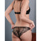 Fleur Of England Luxury Lingerie Signature Black Lace Boudoir Bra & Briefs - Ellen Terrie