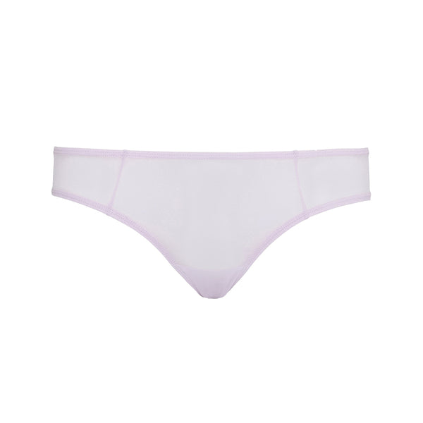 Moons & Junes lilac sheer mesh Fano brief