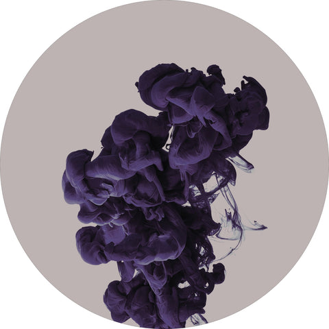 Ink drop purple