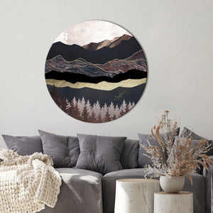 Autumn Mountains 2 | CIRCLE ART