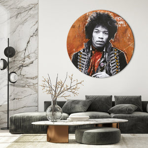 Hendrix by artist | CIRCLE ART